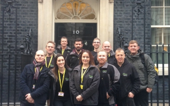 Working with Downing Street