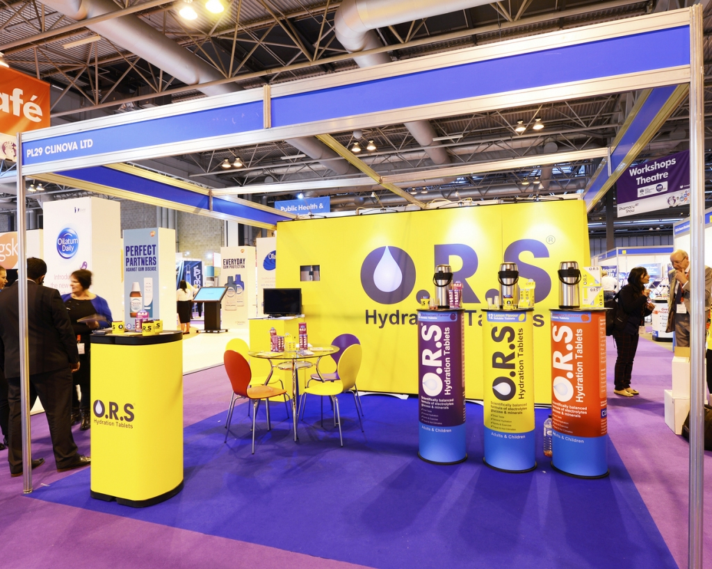 Expo Exhibition Stands Yellow : Shell scheme exhibition stands inspire displays