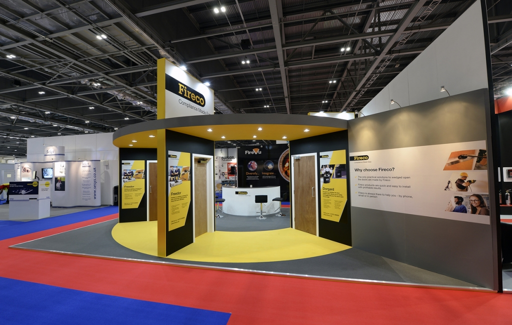 Fireco Exhibition Stand