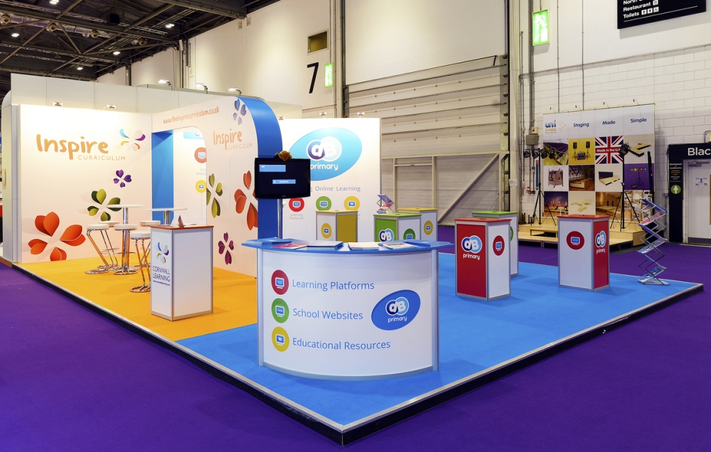 Modular Exhibition Stand Quotes : Modular exhibition stands inspire displays