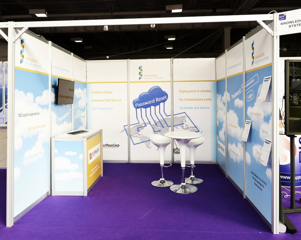 Exhibition Shell Hire : Shell scheme exhibition stands inspire displays