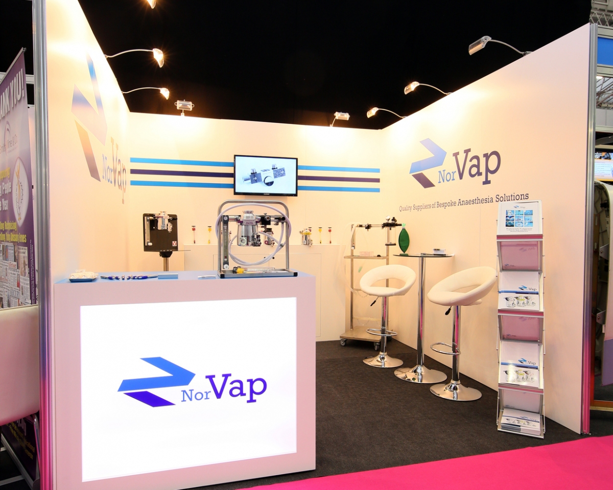 Simple Exhibition Stand Questions : Norvap exhibition stand shell scheme design inspire