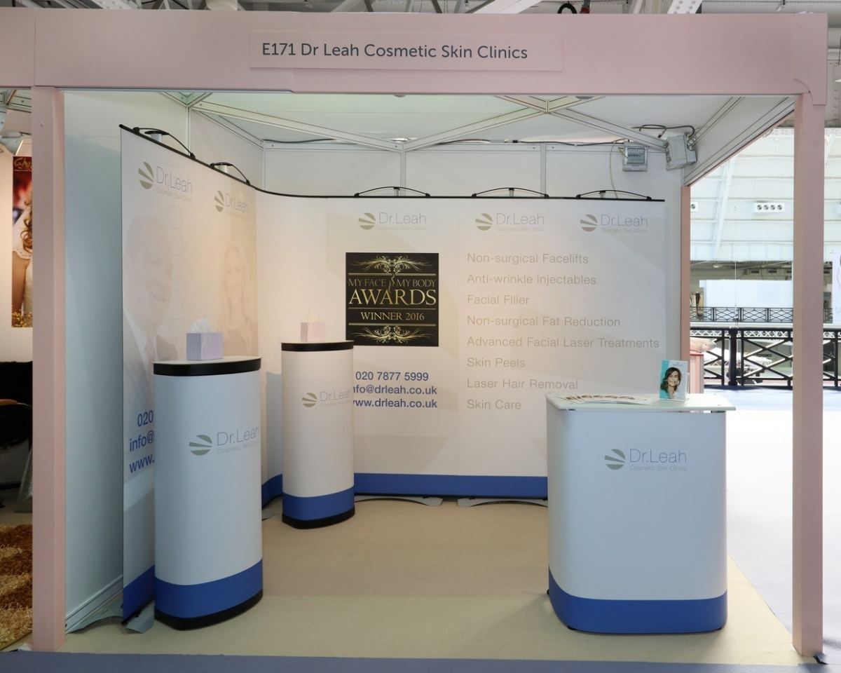 Exhibition Stand Carry Cases : Dr leah exhibition stand shell scheme inspire displays