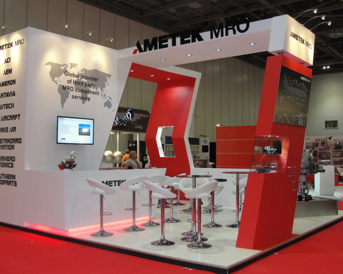 Cheap Exhibition Stand Design : Ametek mro exhibition stand bespoke design inspire