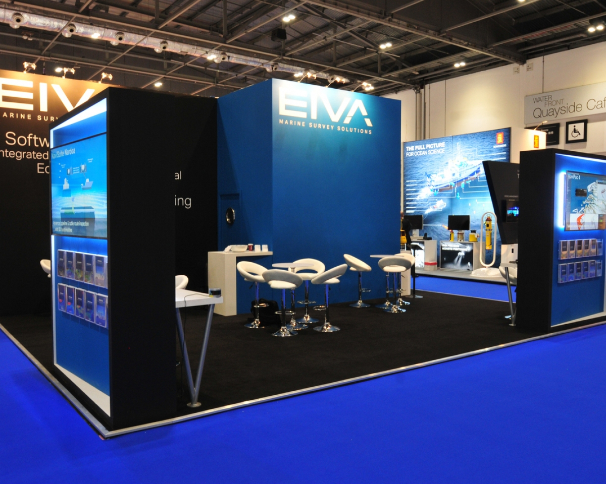 Denmark client Eiva's exhibition stand at Ocienology 2016.
