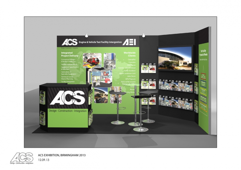 ACS Shell Scheme Exhibition Stand Designers