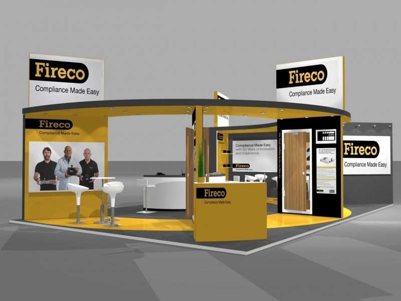 Fireco Bespoke Exhibition Stand Designers