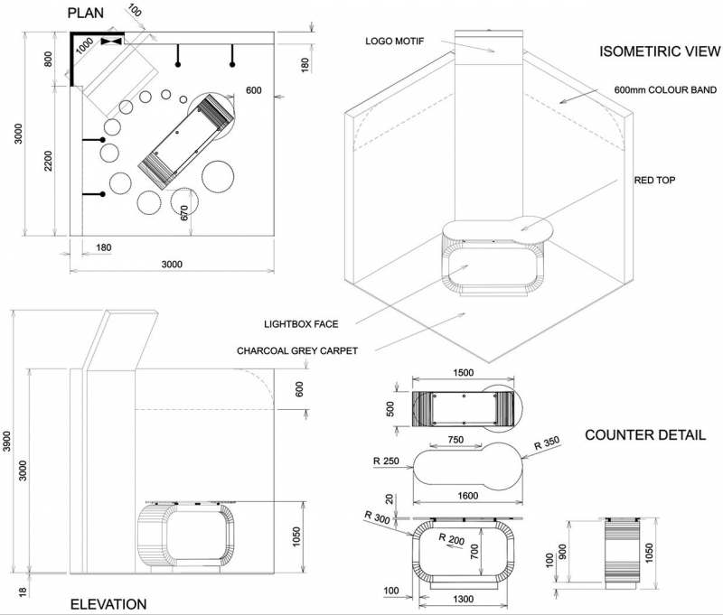 Exhibition Stand Plan : Loadbalancer exhibition stand bespoke design inspire