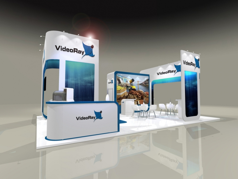 VideoRay Exhibition Stand Design at Oceanology