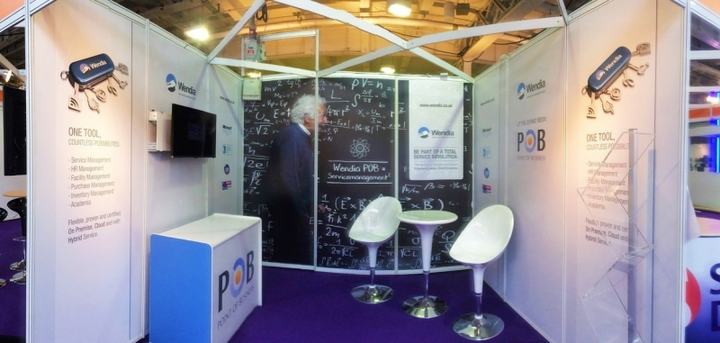The Knowledge Group Exhibition Stand at SITS