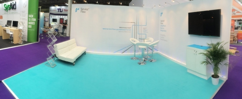 Service Flow Exhibition Stand at SITS