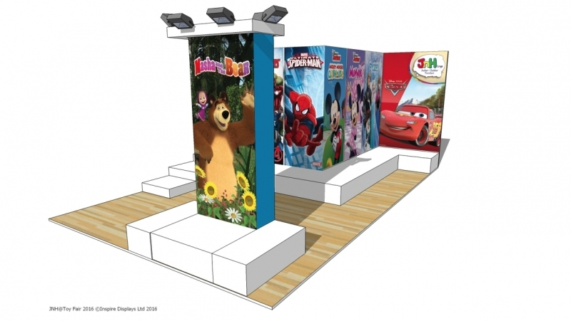JNH Europe Stand Design at The Toy Fair