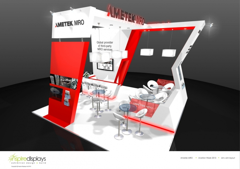 Exhibition Stand Design Brief : Ametek mro exhibition stand bespoke design inspire