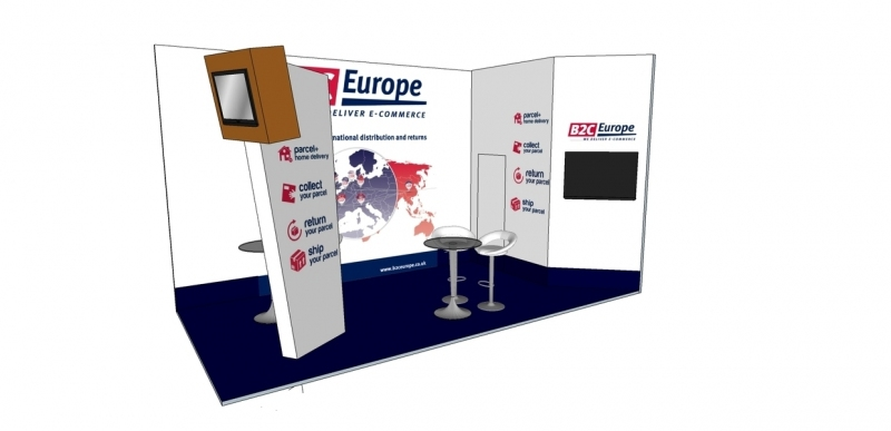 B2C Exhibition Stand Design at Spring Fair