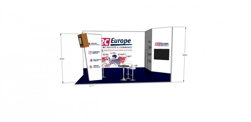B2C Custom Built Exhibition Stand Designers