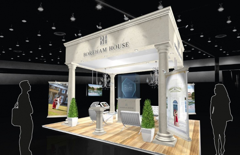 Boreham House Exhibition Stand Design