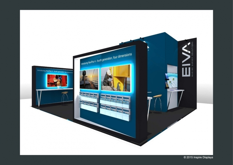 Eiva Bespoke Exhibition Stand at Oceanology