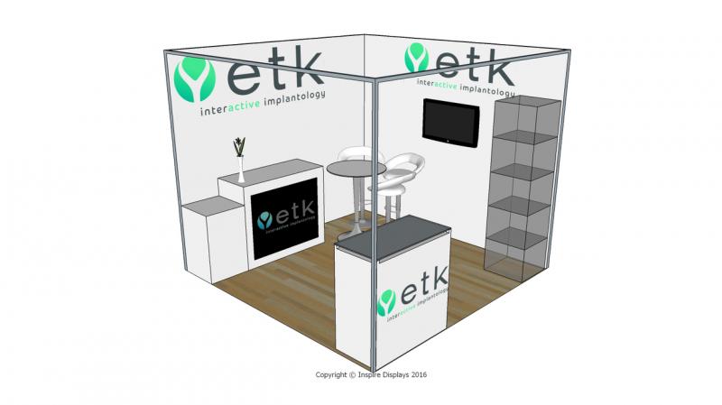 Exhibition Shell Scheme Design : Euroteknika exhibition stand design shell scheme