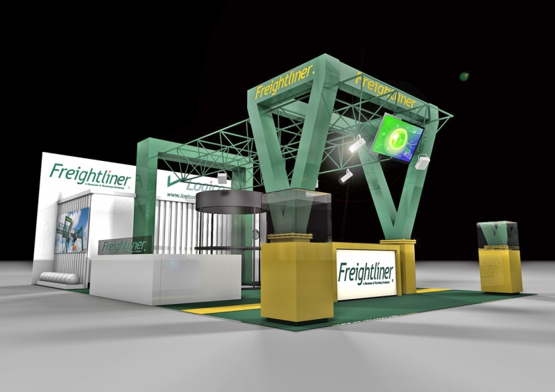 Freightliner Exhibition Stand Design at Multimodel