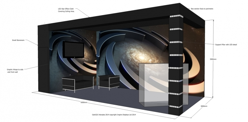Galxc Exhibition Stand Design at Interplas