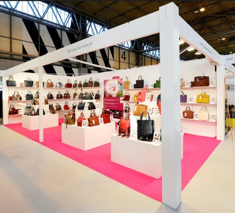 Fashion Expo Standsay : Long sons trading exhibition stand shell scheme