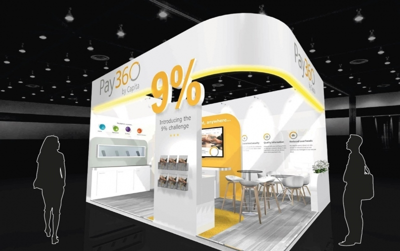 Pay360 by Capita Exhibition Stand Design
