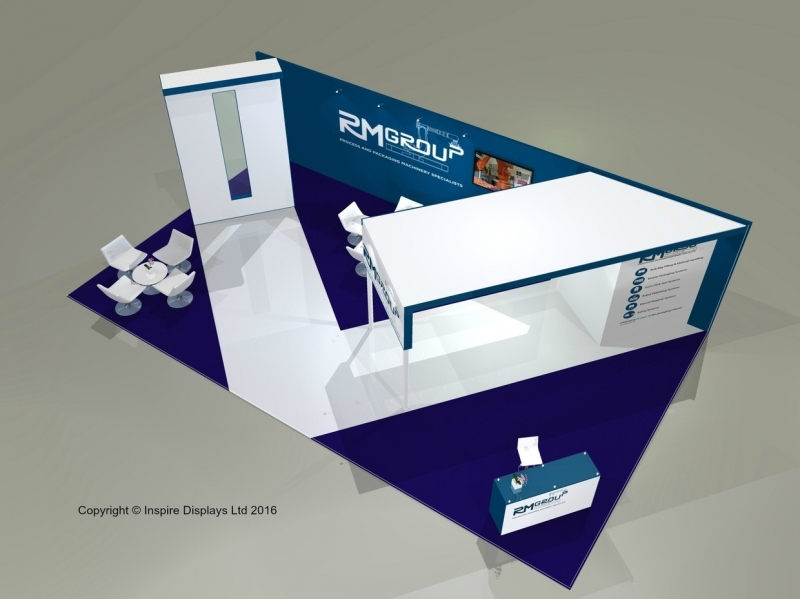 RMGroup Exhibition Stand at PPMA