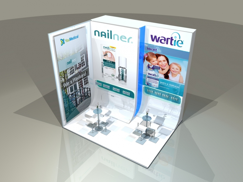 YouMedical Bespoke Exhibition Stand Designers